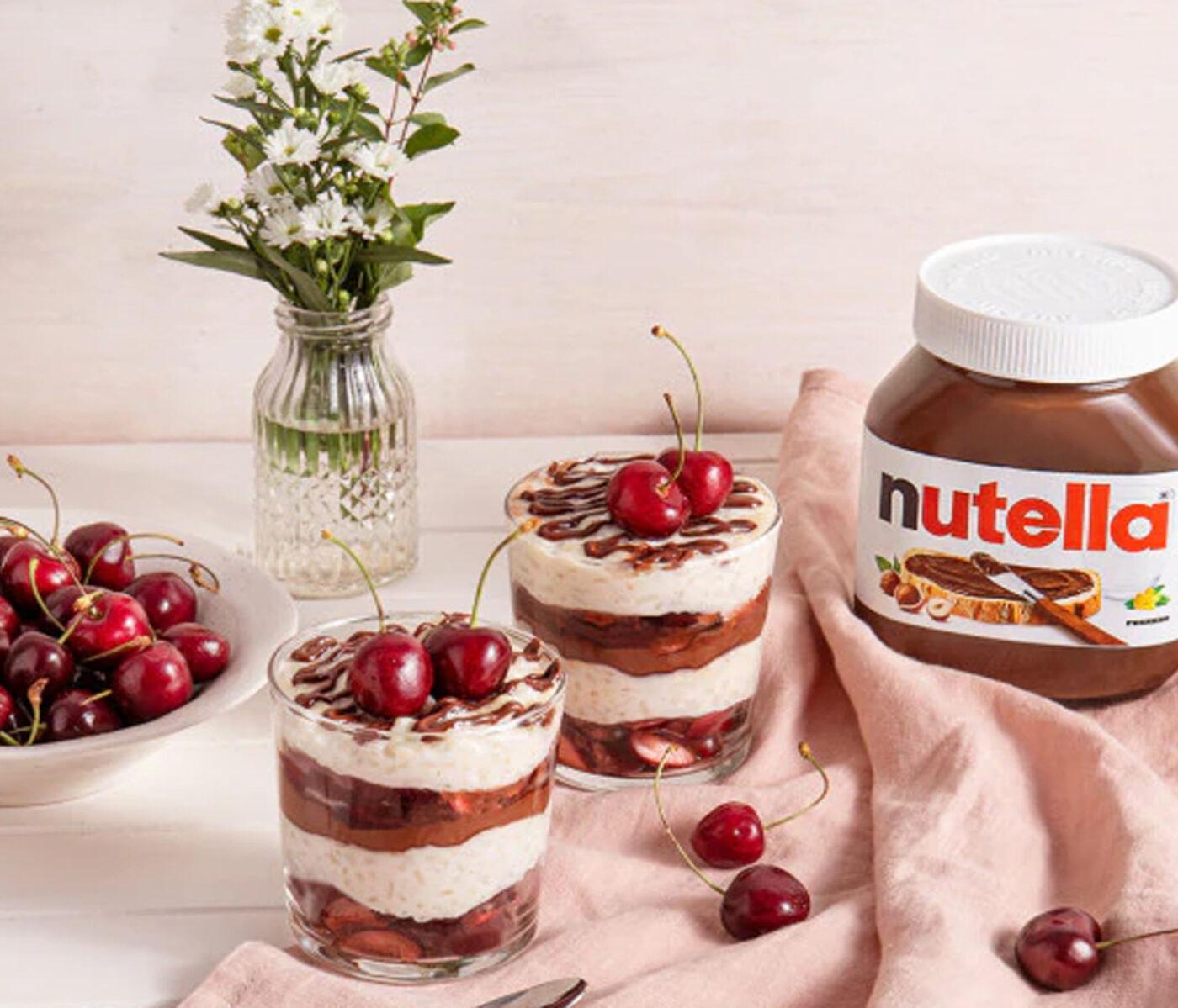 Nutella – Arroz en Leche con Nutella